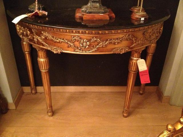 Marble top console, after discount 141 kd