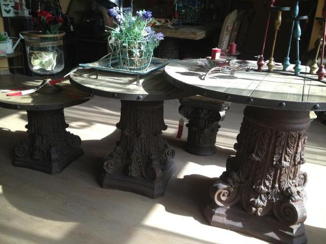 *My Favorite Pick*    Wooden tables, after discount 44 kd - 88 kd