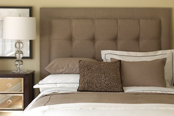Bedrooms on pinterest headboards headboard designs and for Bedroom ideas headboard