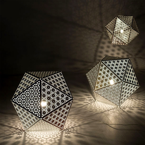 Unique stand Lamps