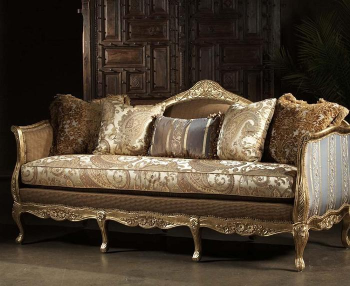 01 French Style Sofa 2 ...